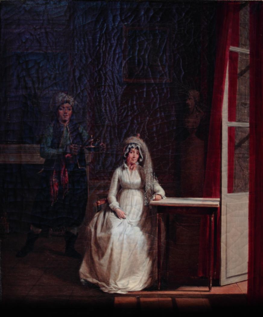Portrait of Letizia Bonaparte