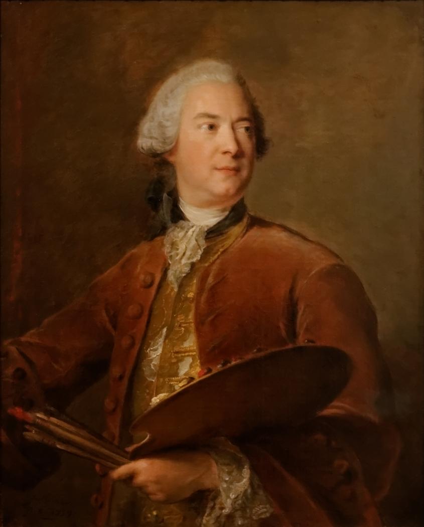 Portrait of Louis Tocqué