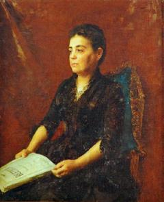 Portrait of Maria Amália Ferreira Lage