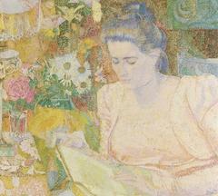 Portrait of Marie Jeanette de Lange
