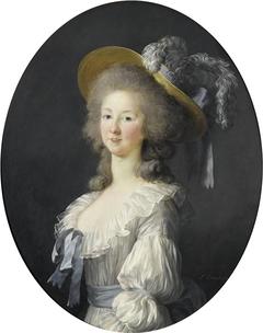 Portrait of Marie-Thérèse-Louise de Savoie-Carignan, Princess of Lamballe