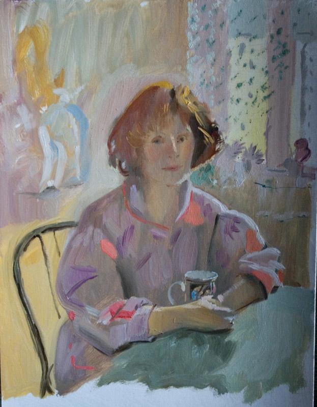 portrait of mother