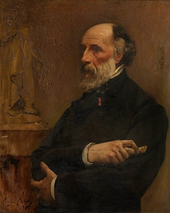 Portrait of the sculptor Jacques De Braekeleer