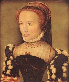 Portrait présumé de Gabrielle de Rochechouart