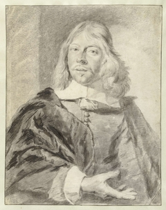 Portret van de schilder Philips Wouwerman