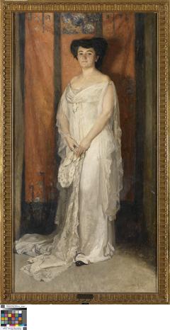 Portret van mevrouw A. Ganshof van der Meersch