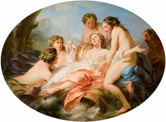 Psyche Rescued by Naiads