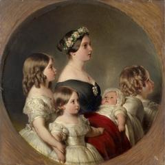 Queen Victoria (1819-1901) with her Four Eldest Children