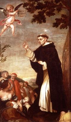 S. Vincent preaching
