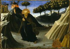 Saint Anthony Abbot Shunning the Mass of Gold