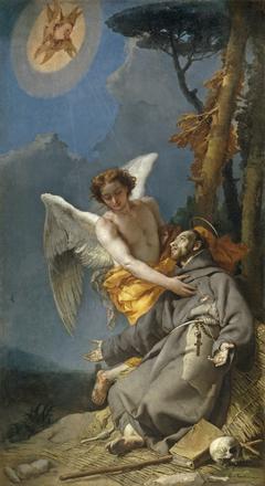 Saint Francis of Assisi receiving the Stigmata
