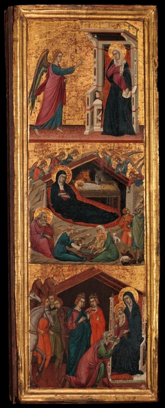 Saints and Scenes from the Life of the Virgin