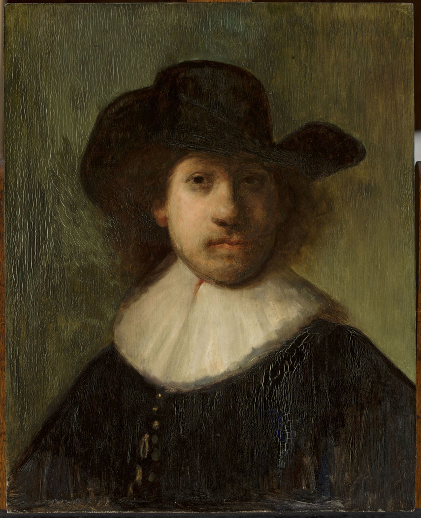 Self-portrait of Rembrandt