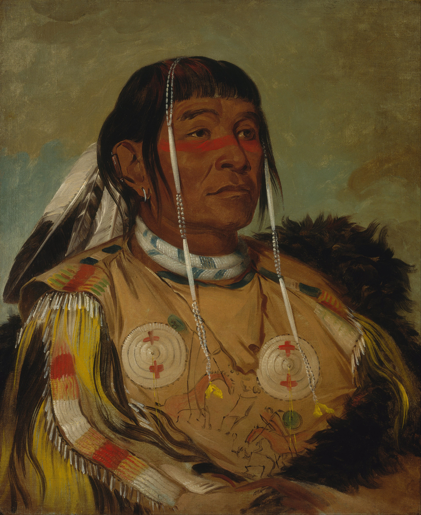 Sha-có-pay, The Six, Chief of the Plains Ojibwa
