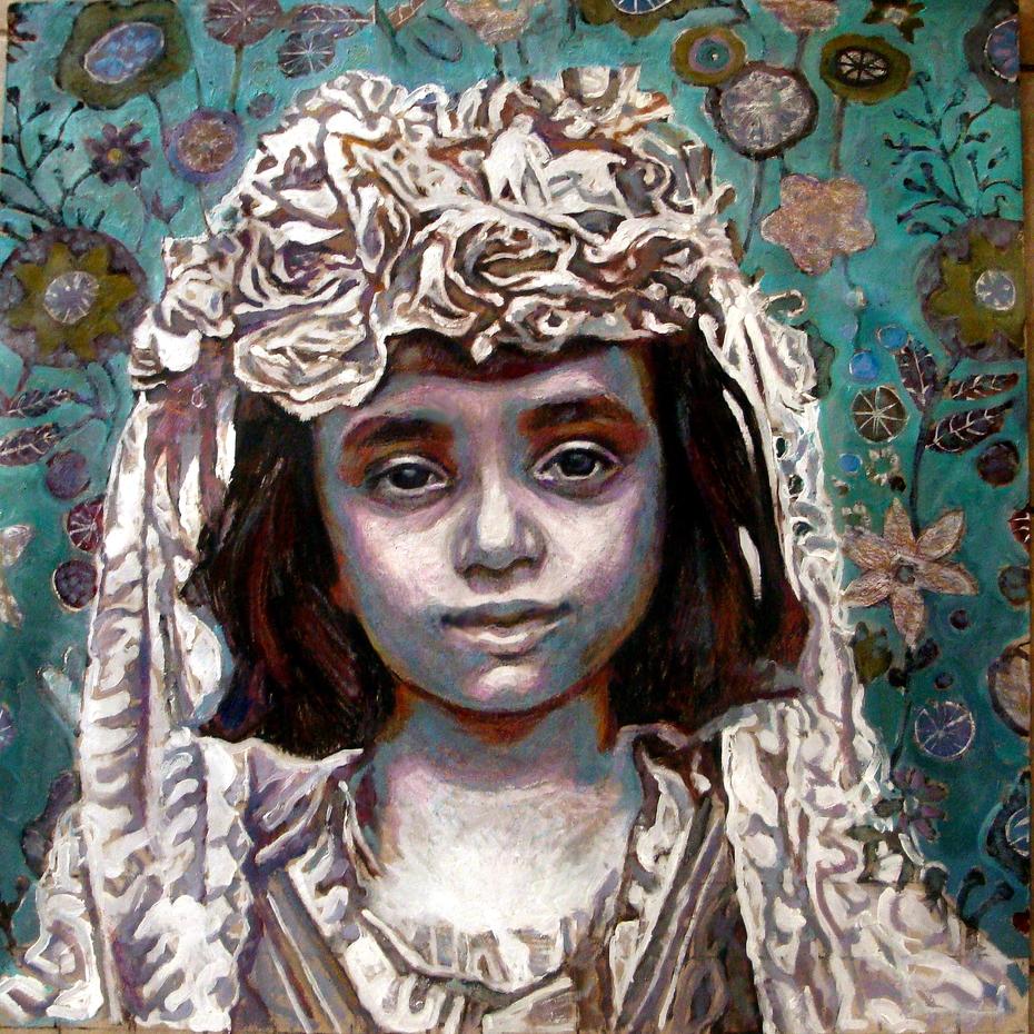 Smaragda Papoulia-The Syrian Bride)