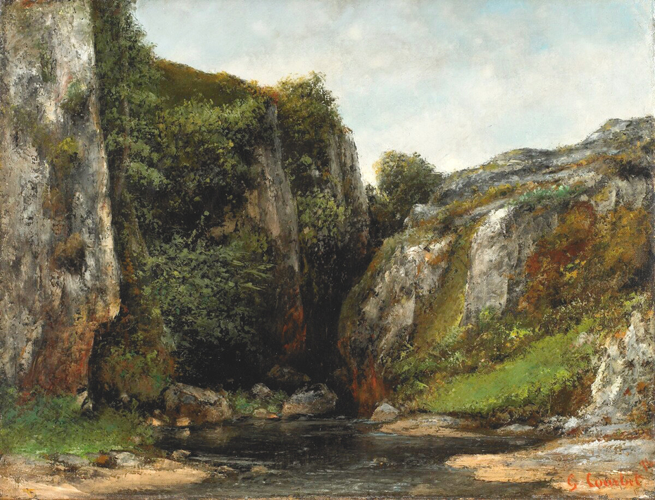 Source of a Mountain Stream
