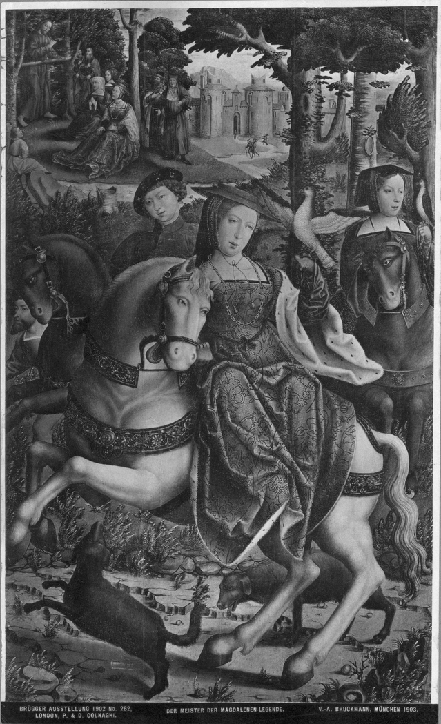 St. Mary Magdalene hunting before her conversion