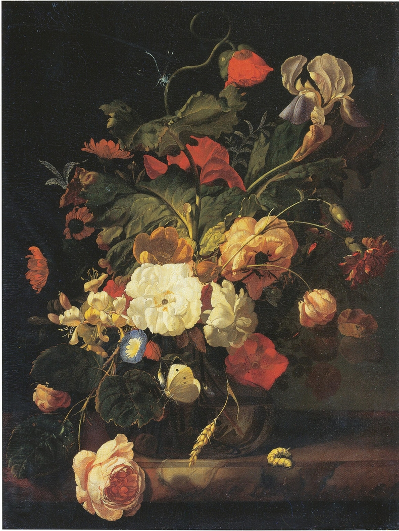 Still Life with Bouquet of Flowers, 1698