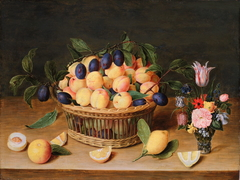 Still Life with Fruit and Flowers