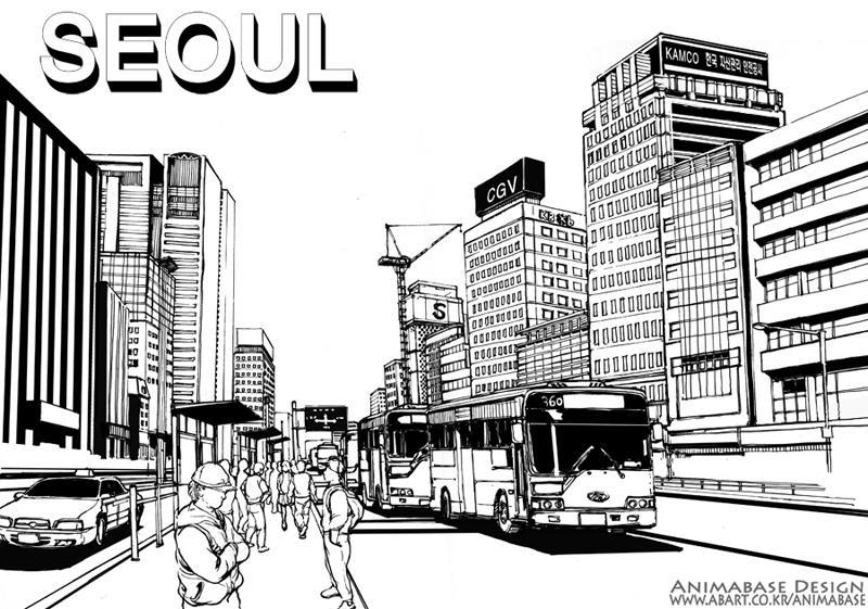 street in seoul