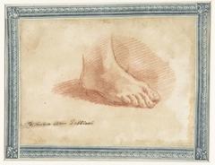 Studie van een voet