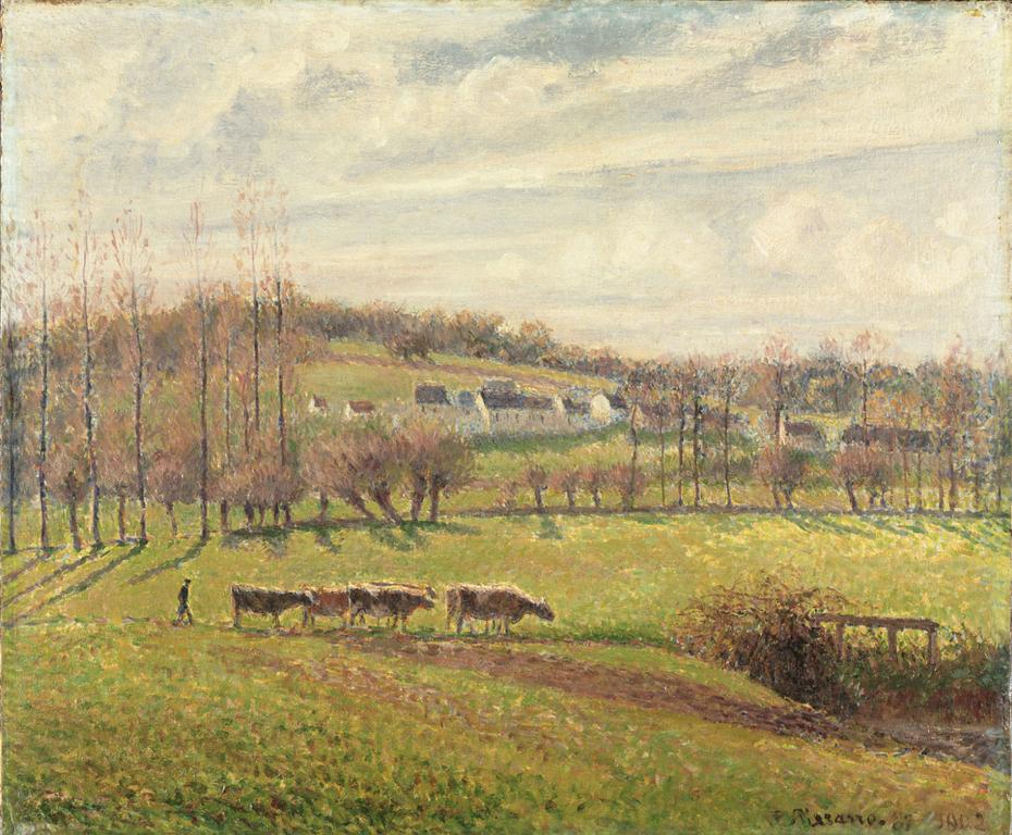 Summer Landscape, Eragny
