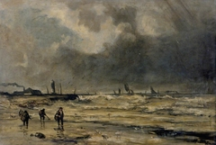 The Approaching Storm on the Coast Near Boulogne