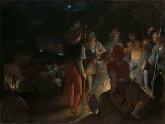 The Batavians Besiege the Roman Army Regiments at Vetera