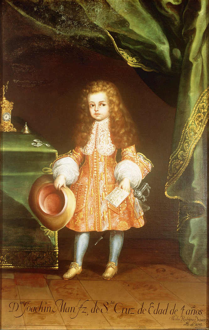 The Child, Joaquín Manuel Fernández de Santa Cruz