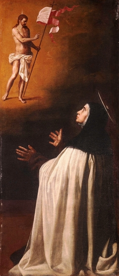 The crucified Christ appears to Saint Teresa