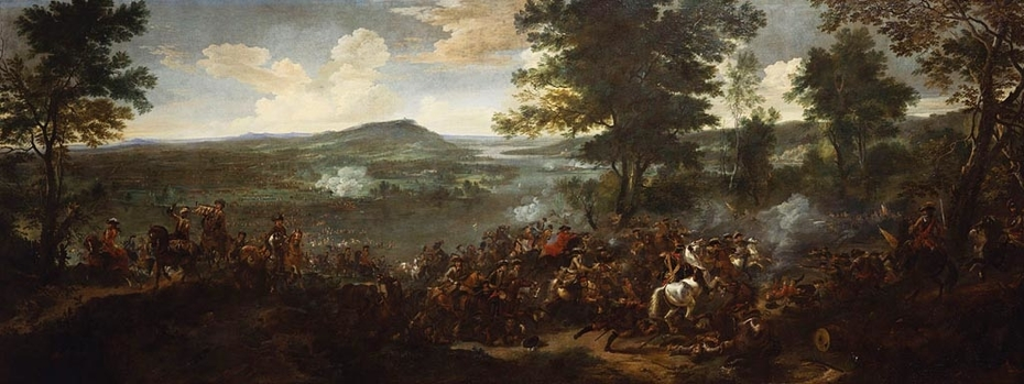The French Army crossing the Rhine, 12 June 1672