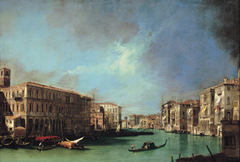 The Grand Canal near the Rialto, Looking North