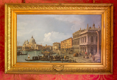 The Grand Canal, Piazzetta and Dogana, Venice