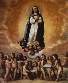 The Immaculate Conception as a Child