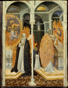 The Miraculous Communion of Saint Catherine of Siena