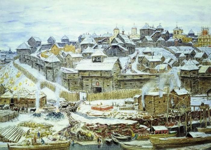 The Moscow Kremlin in the era of Ivan Kalita