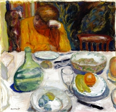 The Provençal Carafe, Marthe Bonnard and Her Dog Ubu