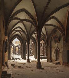 The Ruins of Walkenried Abbey in Winter