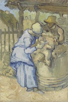 The Sheepshearer (after Millet)