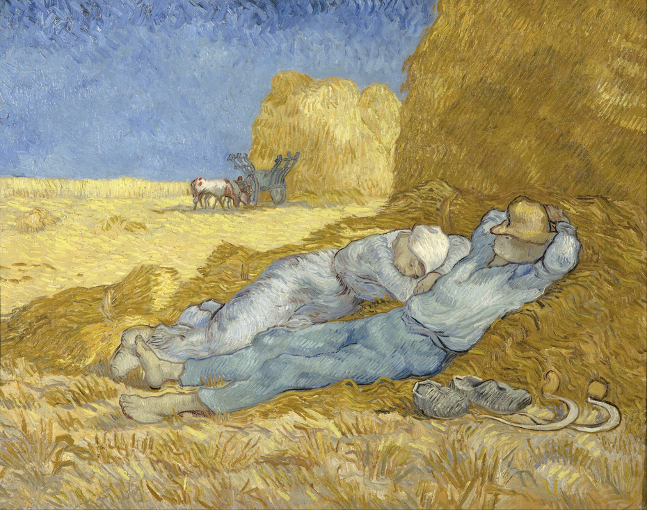 Noon - Rest from Work (after Millet)