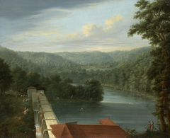 The Water Reservoirs, the so-called Bends, in Belgrade Forest