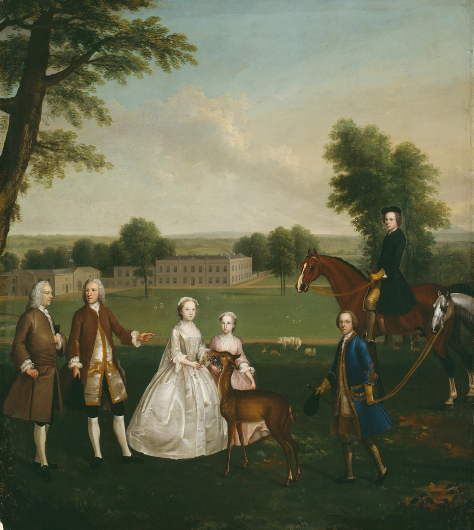 Thomas Lister and Family at Gisburne Park