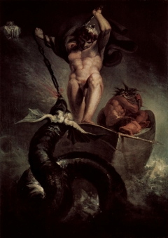 Thor Battering the Midgard Serpent