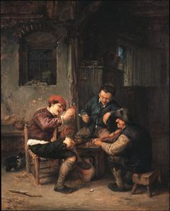 Three Peasants at an Inn