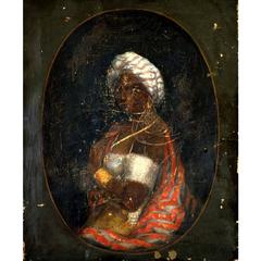 Unidentified Black Woman with Turban
