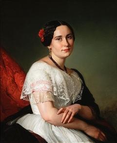 Portrait of Katarzyna Jahn, artist's sister