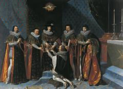 Réception d'Henri d'Orléans Duc de Longueville