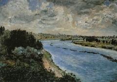 Chalands sur la Seine