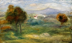Landscape near Cros-de-Cagnes