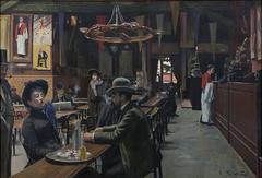 Café des Incoherents, Montmartre (16 bis, rue Fontaine, Paris)